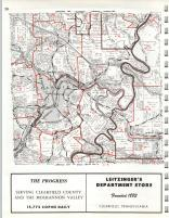 Map Image 021, Clearfield County 1973